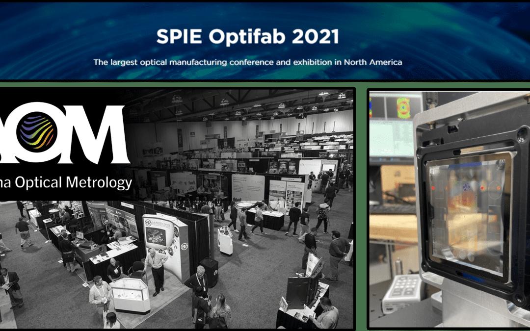 AOM to Exhibit at Optifab 2021